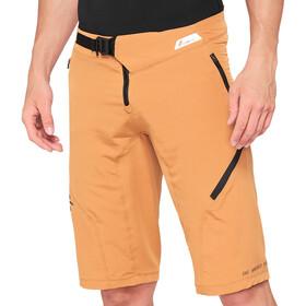 100% Airmatic Enduro/Trail Spodnie krótkie Mężczyźni, brązowy